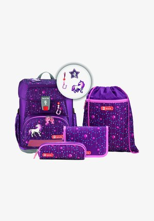 SET  - Schooltas set - dreamy unicorn