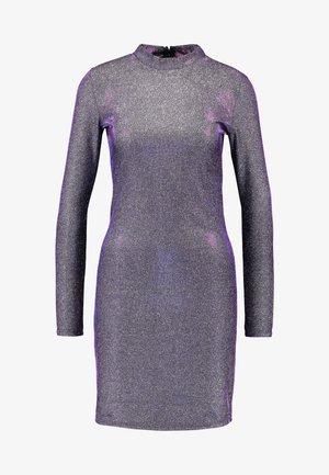 VIMISSI DRESS - Shift dress - black/silver/blue/pink