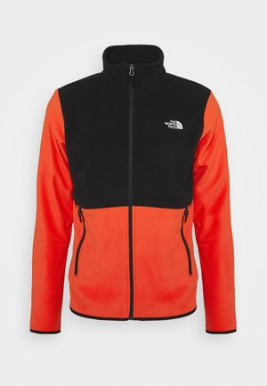 GLACIER JACKET  - Fleece jumper - flare/black