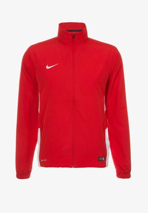 Training jacket - red/white