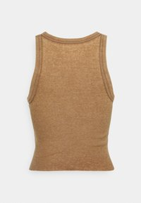 aerie - CROPPED TIE FRONT TANK - Top - cedar expedition - 1