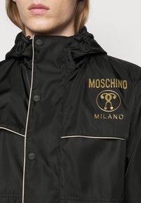 MOSCHINO - JACKET - Summer jacket - fantasy black - 4