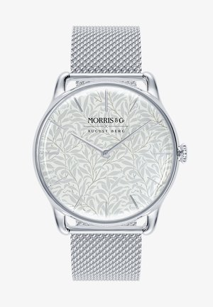 UHR MORRIS & CO SILVER WILLOW BOUGHS MESH 38MM - Watch - pure