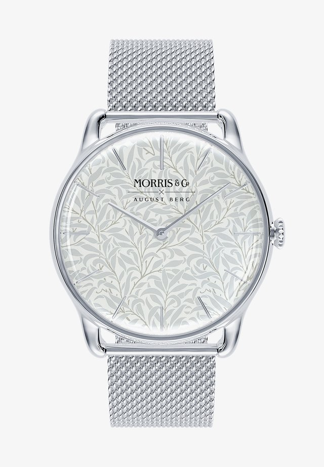 UHR MORRIS & CO SILVER WILLOW BOUGHS MESH 38MM - Horloge - pure