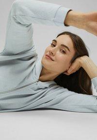 edc by Esprit - Zip-up sweatshirt - light blue lavender - 7