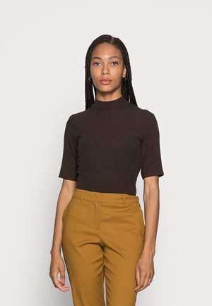 SILDE - Basic T-shirt - truffle