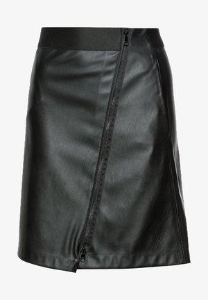 Jupe portefeuille - black