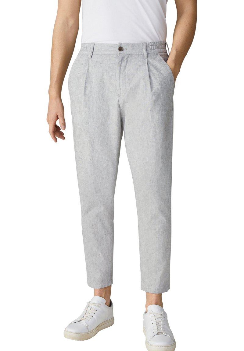 Strellson - BASHY - Trousers - beige meliert