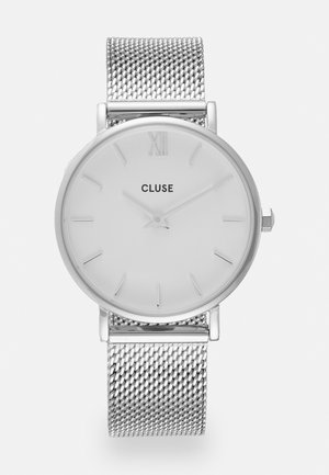 MINUIT - Hodinky - silver-coloured/white