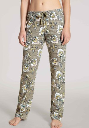 Pyjama bottoms - coriander