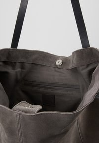 Anna Field - LEATHER - Tote bag - anthracite - 5
