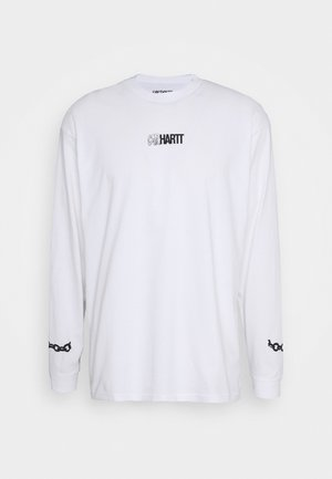 TWISTED TRUTH  - Long sleeved top - white