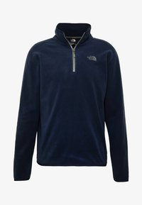 The North Face - GLACIER 1/4 ZIP - Fleecová mikina - urban navy - 3