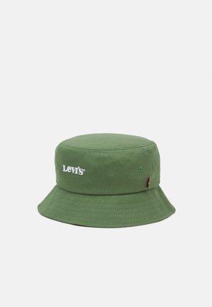 BUCKET HAT VINTAGE MODERN LOGO UNISEX - Chapeau - pale green