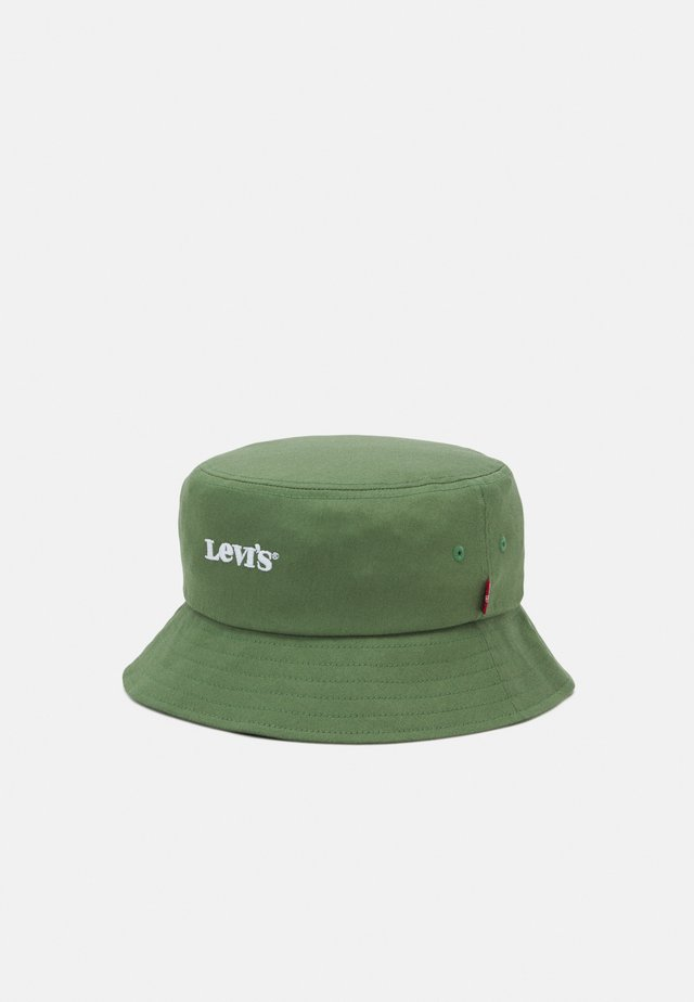 BUCKET HAT VINTAGE MODERN LOGO UNISEX - Hat - pale green