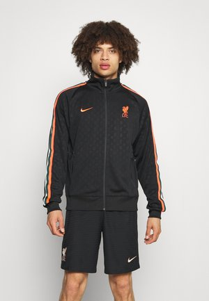 LIVERPOOL FC  - Club wear - black/bright crimson