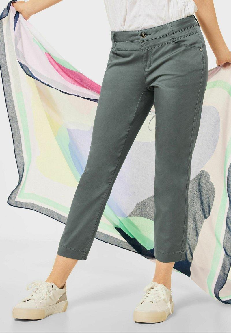 Street One - Trousers - grün