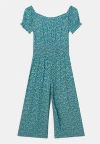 Marks & Spencer London - SHIRRED - Jumpsuit - turquoise - 0