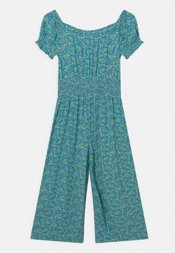 SHIRRED - Overall / Jumpsuit /Buksedragter - turquoise