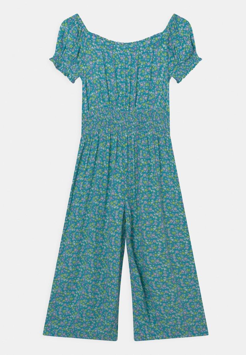 Marks & Spencer London - SHIRRED - Jumpsuit - turquoise