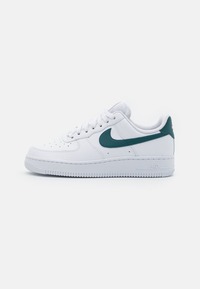 AIR FORCE 1 - Sneakers - white/dark teal green/sunset pulse