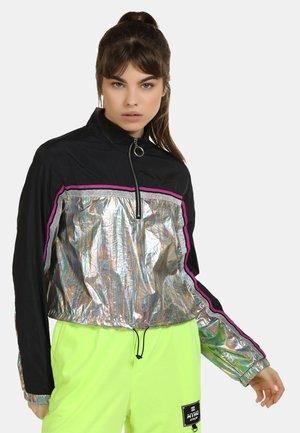 Light jacket - schwarz holo