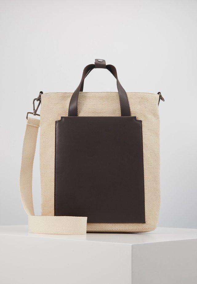 UNISEX - Taška na laptop - beige