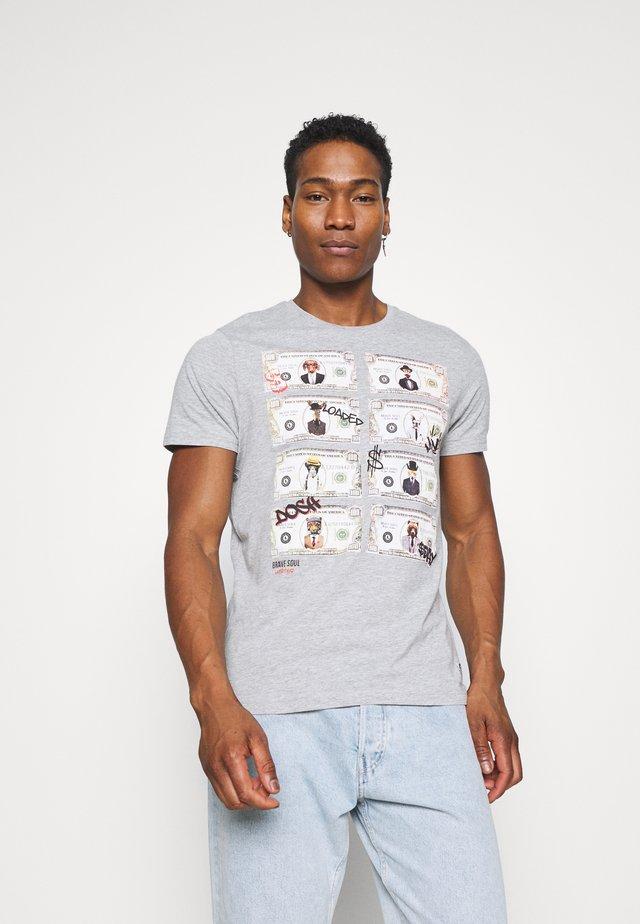 MYTHICAL - T-shirts print - light grey