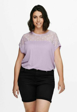 CARFLAKE MIX - T-shirt con stampa - orchid bloom