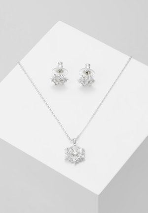 MAGIC SNOWFLAKE SET - Earrings - white