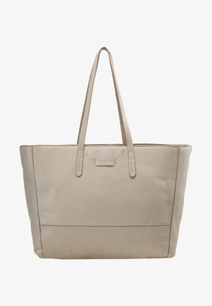 SHOPPER - Tote bag - string grey