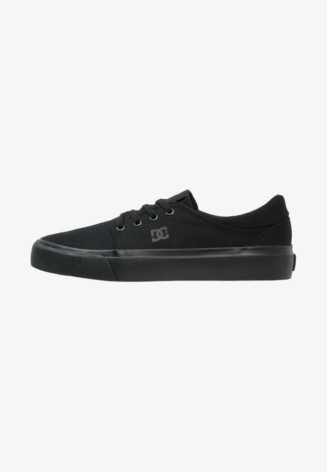 TRASE - Chaussures de skate - black