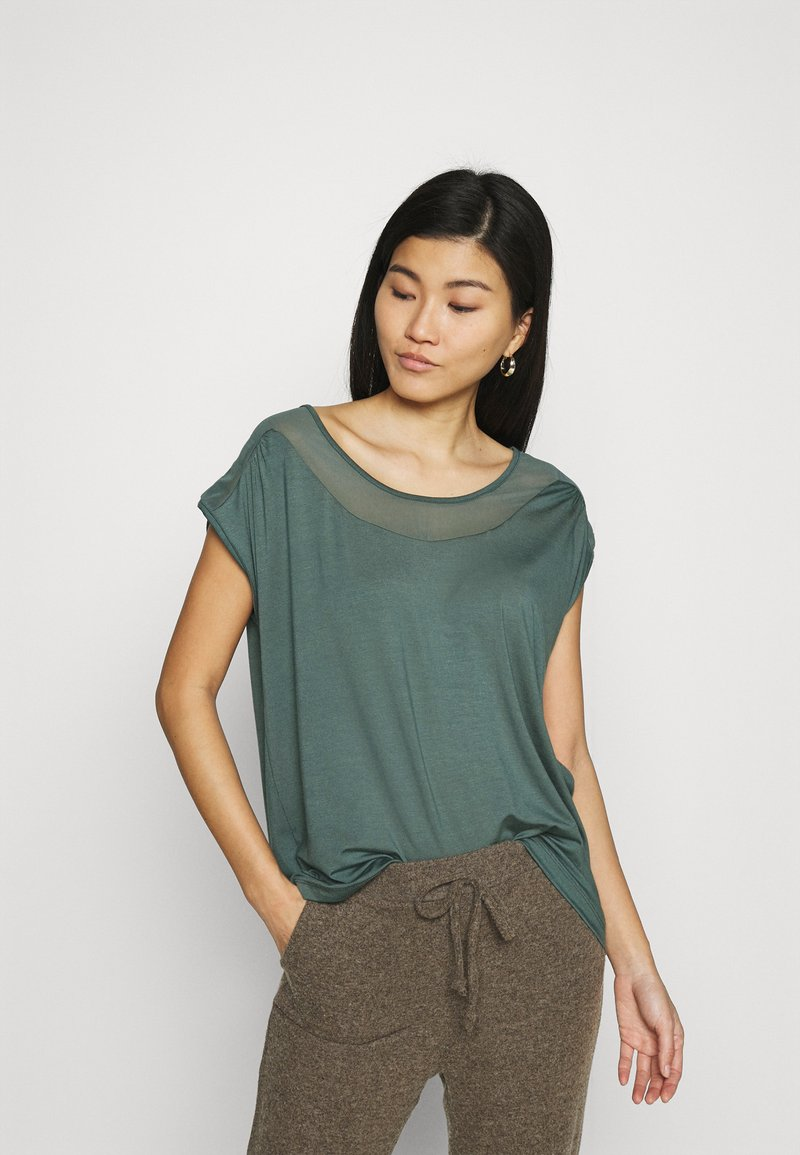 Anna Field - Camiseta básica - light green