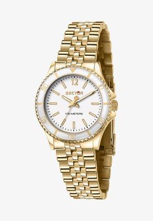 Horloge - weiß/gold