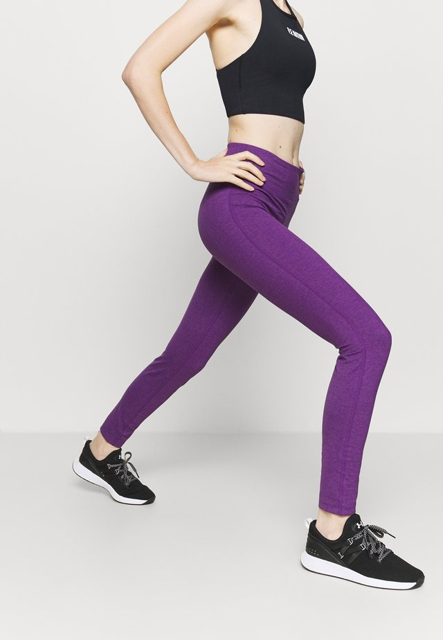 LEGGINGS BE ONE - Collant - majesty violet melange