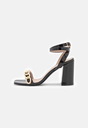 MACAYLA - Sandalen met hoge hak - black