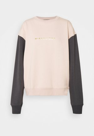 COLOURBLOCK - Sweatshirt - nude