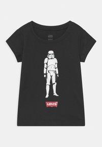 Levi's® - STAR WARS STORM TROOPER - Print T-shirt - black - 0