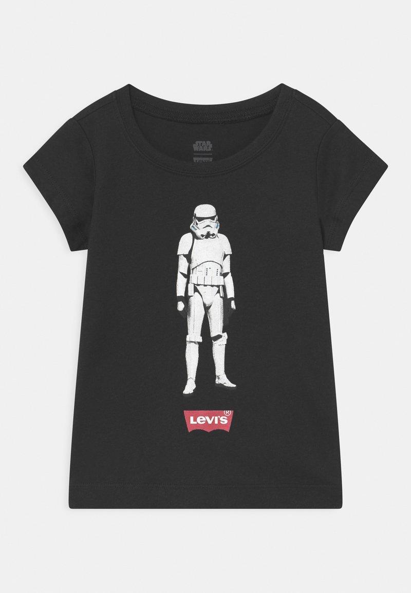 Levi's® - STAR WARS STORM TROOPER - Print T-shirt - black