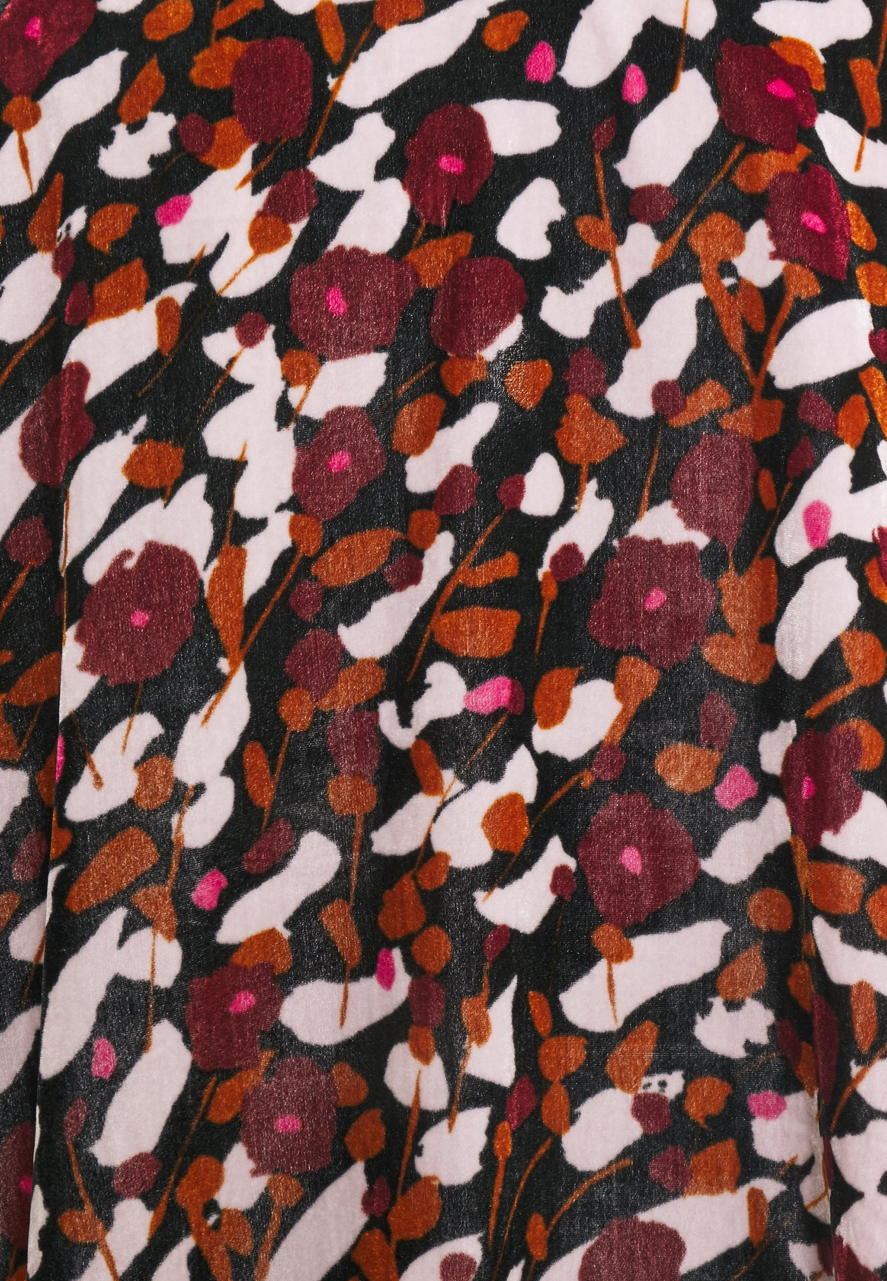 Marimekko KUMPARE KESÄHEINÄ DRESS Freizeitkleid rose/black/rosa