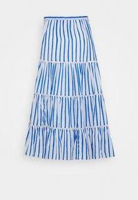 J.CREW - VOILE MIDI - A-line skirt - blue/multi - 3