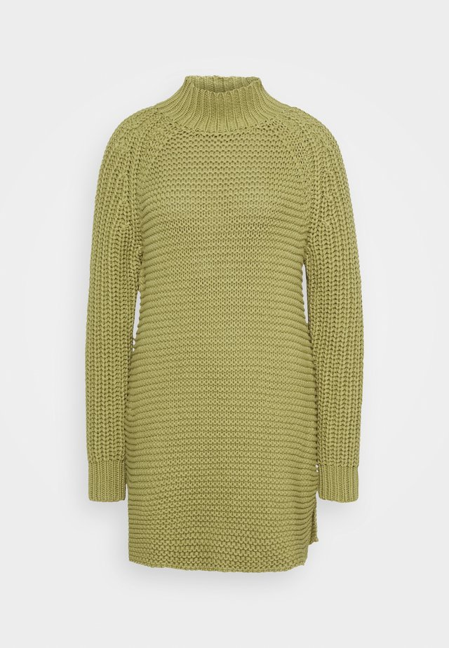ARIELLA LONG - Pletené šaty - sage