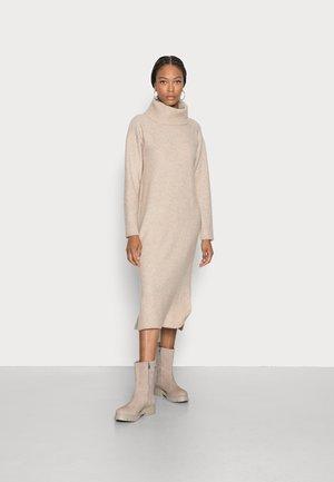 Vestido de punto - sand