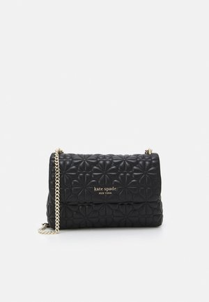 FLAP SHOULDER - Handväska - black