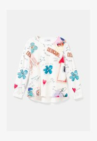 Desigual - Long sleeved top - white - 1