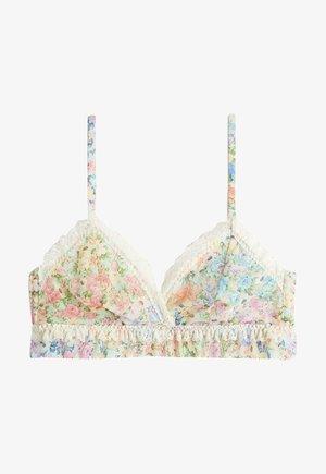 Triangle bra - floral print