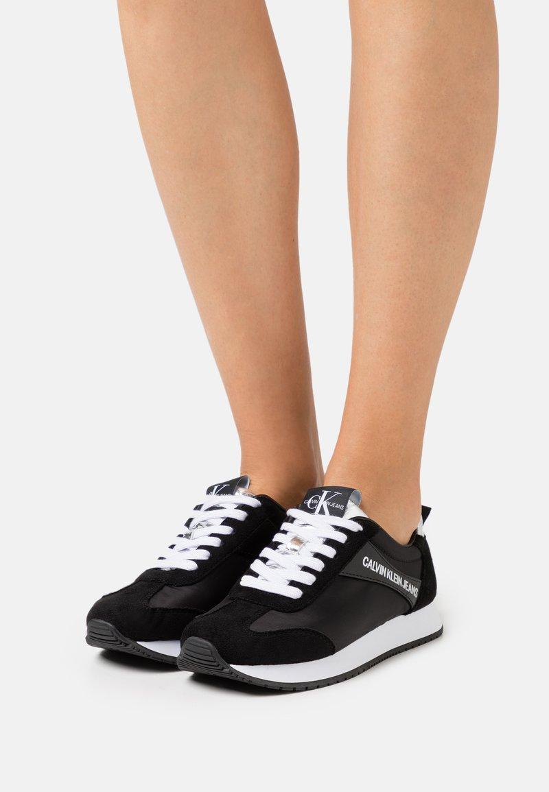 Calvin Klein Jeans - JILL - Trainers - black/silver