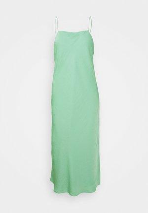 STRAPPY NECK BIAS SLIP - Cocktail dress / Party dress - lido green