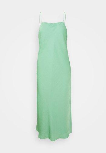 STRAPPY NECK BIAS SLIP - Koktejlové šaty/ šaty na párty - lido green