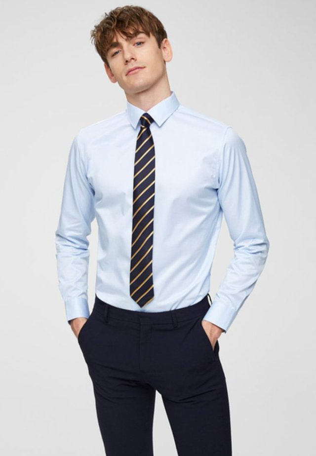 SLHSLIMPEN - Camisa elegante - light blue